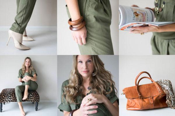 Online styling model collage trainingen kleuradvies